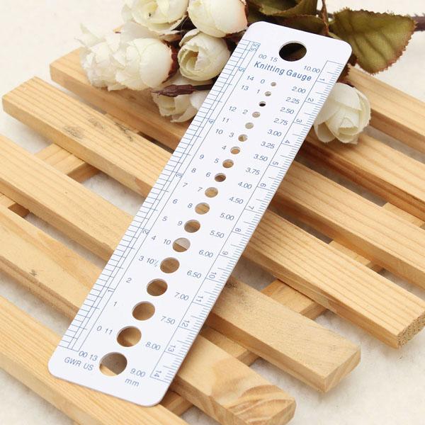 Knitting Gauge Tool : Bed bath us uk canada sizes knitting needle gauge inch