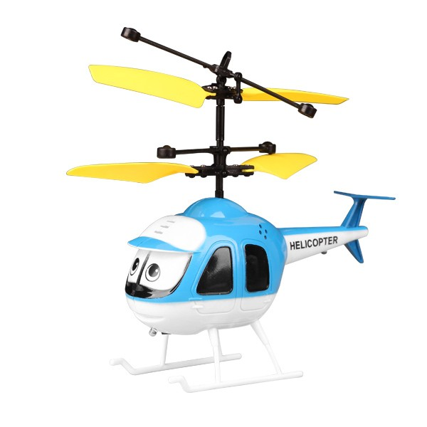 LEDI Hand Induction Aircraft Toy Remote Control RC Sensing Helicopter Christmas Toy