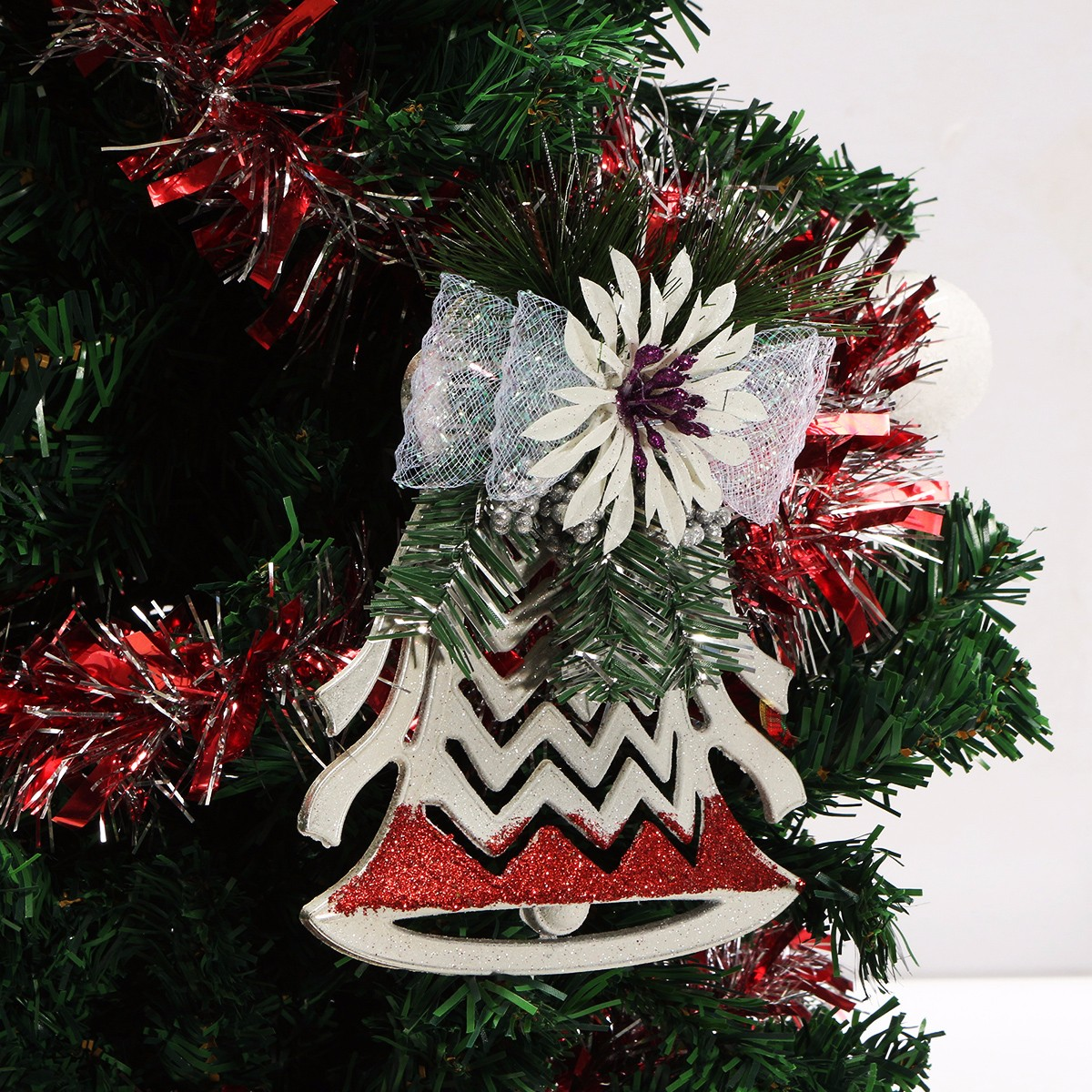 Other toys plastic christmas tree ornaments white