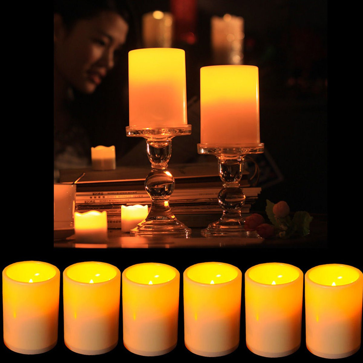 Other Electrical Lighting Battery Powered Flameless