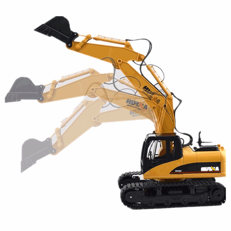 HuiNa Toys1550 15Channel 2.4G�1/12RC Metal Excavator Charging RC Car
