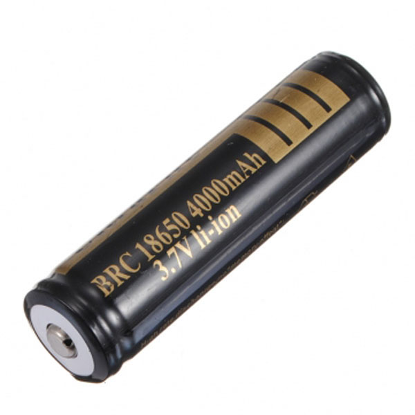 UltraFire 18650 Rechargeable 4000mAh 3.7V Protected Li-ion Battery