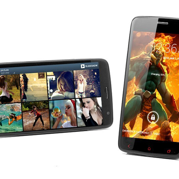 iNew i4000T 5.0 Inch 16G ROM Android 4.2.1 MTK6589T Smart Phone Black