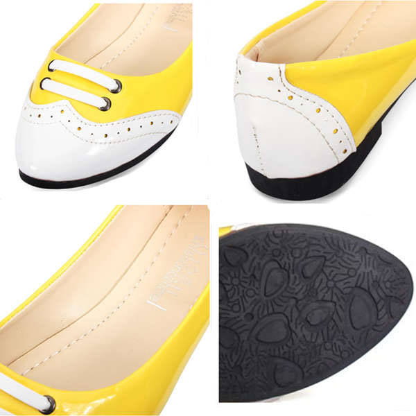 Candy Color Flat Heel Single Shoes