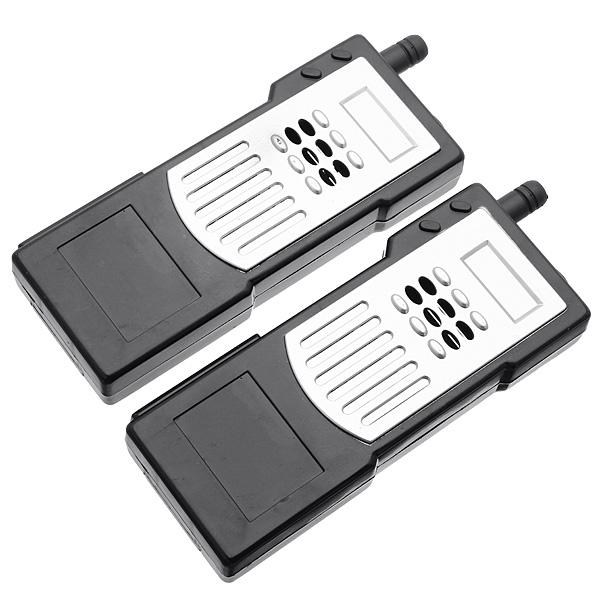 2Pcs DIY Electronic Intercom Kit Walkie Talkie Interphone Learning Kit