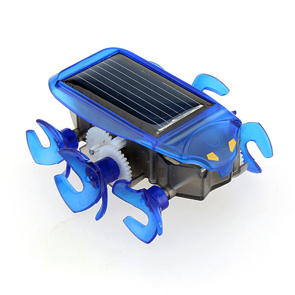 Mini Solar Powered Bionic Cute Energy-saving Car Education Toys Gifts