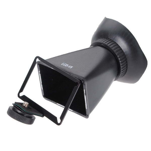 "2.8x Magnifier 3"" 4:3 LCD Viewfinder V5 Soft Eye Cup for Nikon 1 J1"