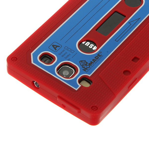 Cassette Tape Silicone Soft Case For Samsung Galaxy S3 SIII i9300