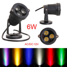 6W LED Flood Spot Light For Landscape Garden Yard Path IP65 DC 12-24V