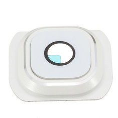 Back Rear Camera Glass Lens Cover Part White For Samsung Galaxy S6 G920 G920F