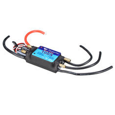 FVT BOAT0100 100A Brushless Senseless BOAT ESC Speed Controller Waterproof 5V/5A RC Boat Part