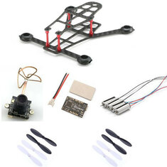 Eachine E100 w/ 8520 Motor Eachine F3 Brushed Flight Controller 25MW VTX 800TVL Camera
