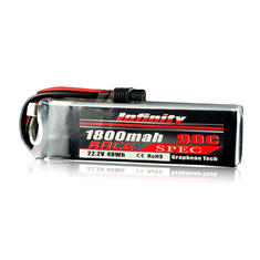 Infinity 22.2V 1800mAh 90C 40Wh 6S 1P Race Spec Lipo Battery for RC Multicopters