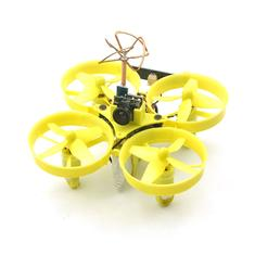 Eachine Turbine QX70 70mm Micro FPV LED Racing Quadcopter BNF Based On F3 EVO Brushed Flight Controller
