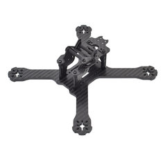 Realacc X210 Pro 214mm 3K Carbon Fiber FPV Racing Frame 4mm Frame Arm w/ LED Board 5V & 12V PDB