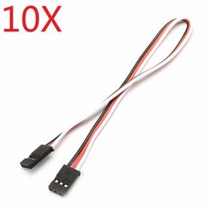 10X 22AWG 60 Core 20cm Male to Male Futaba Plug Servo Extension Wire Cable Parallel Cable