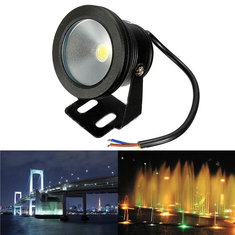 Outdoor 12V Underwater Fountain Waterproof 10W LED Flood Wash Light
