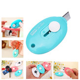 Oval Package Knife Utility Knife Paper Cutting Knife Opener Stealth
