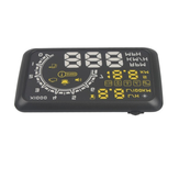 Car HUD Head Up Display KM/h&MPH Speeding Warning OBD2 System