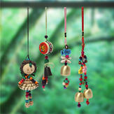 Chinese Style Wind Chime Bell Hanging Ornament Home Yard Garden Decor