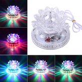 LED Crystal Lotus Rotating RGB Sunflower Stage Effect Lighting For Disco Bar KTV Party