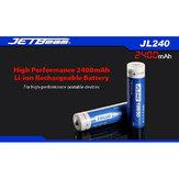 JETBeam JL240 18650 2400mAh 3.7V Li-ion Battery With Protected