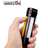 Warsun H006 Q5 400LM Magnet Ring Mini LED Flashlight Yellow 18650