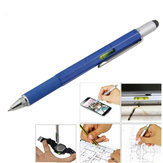 Multi-functional 6 in 1 Professional Stylus Pen for Mobile Phone