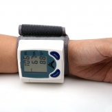 China Wholesale Digital Wrist Blood Pressure Monitor & Heart Beat Meter