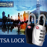 Naturehike TSA 4 Dial Code Lock Travel Luggage Lock Customs Padlock Anti-Theft Security