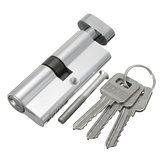 Aluminum Home Safety Lock Cylinder Door Cabinet Lock With 3 Keys 92×29mm