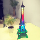 Original DIY Paris Tower Light Cube Kit Eiffel Tower LED Music Spectrum Kit