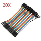 800Pcs 10cm Female To Female Dupont Line Jumper Cable For Arduino
