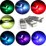 T10 W5W 194 LED Multimodal 7Colors Flash Light Car 5050 6SMD Strobe Side Marker Light