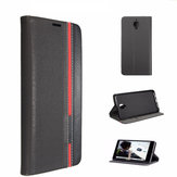 Black Ultra Thin Luxury Leather Flip Case Cover For OnePlus 3