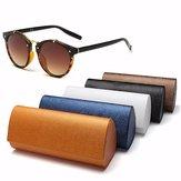 Hard Sunglass Glasses PU Leather Box Reading Glasses Storage Spectacle Glasses Case
