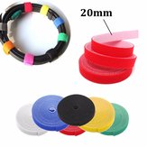 20mm 4.5m Multifuntional Self Adhesive Magic Stick Loop Tape Fasten Stick Cable Tie