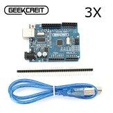 3Pcs Geekcreit™ UNO R3 ATmega328P Development Board For Arduino