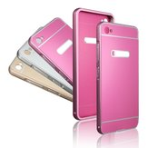 Metal Frame and Acrylic PC Back Cover Case for Lenovo S90