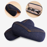 Jean Imitation Sunglasses Box Compression Resistance Plastic Travel Carry Case Bag