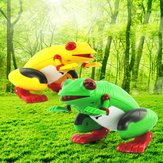 1 Pcs Infrared Remote Control Simulation Frog RC Animal Toy 9984