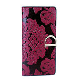 Women Retro Flower Long Wallet Chinese Style Purse Hasp Clutches Card Holder Coin Bags