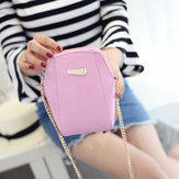 Women Chain Shoulder Bags Girls Shell Cosmetic Bags Crossbody Bags 5.5 Inch Phone Bags For Iphone 6 Plus