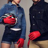 Original Unisex Couple Windproof Antiskid Driving Gloves Cycling Coral Fleece Linen Bike Outdoor Mittens