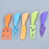 5PCS Stainless Steel Cheese Knives Cutters Shovel Fork Food Dinnerware Kitchen Accessories