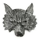 Creep Rubber Wolf Head Mask Halloween Cosplay Costume Party Latex Prop Animal Mask