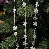 2M Christmas Snowflake Hanging Decoration Christmas Tree Xmas Party Hanging Ornament Gift