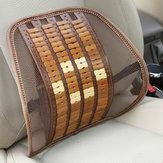 Original Summer Bamboo Car Back Cushion Seat Chair Ventilate Cushion Pad