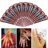1Pcs Natural Herbal Henna Cones Temporary Tattoo Body Art Tool New
