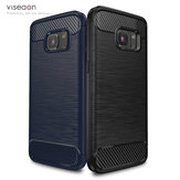 Viseaon TPU Back Cover Shockproof Heat Dissipation Phone Case for Samsung Galaxy S7 G9300
